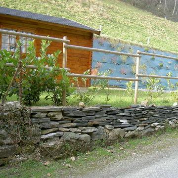 Aménagement extérieur de clôture à Pontacq