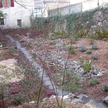 Création d'un jardin extérieur vers Tarbes