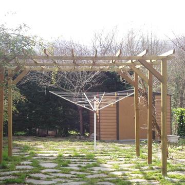 aménagement d'une pergola extérieure vers Pontacq