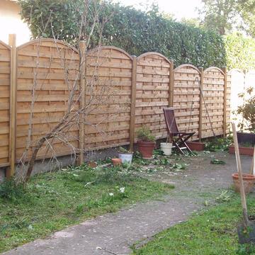 aménagement d'une clôture extérieure vers Argelès-Gazost